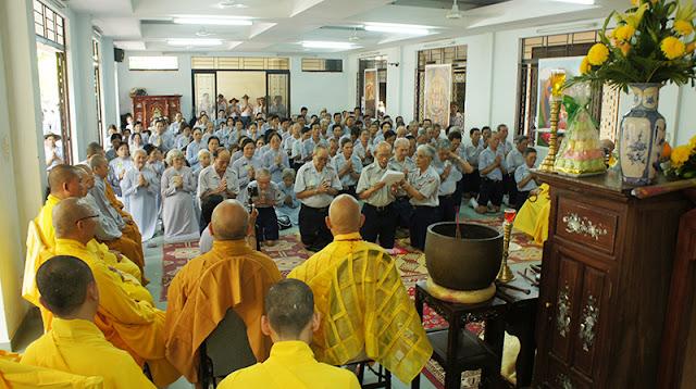 DSC06380 Lễ Hiệp kỵ   Lễ Huý Nhật Cư sĩ Sáng lập viên GĐPT Việt Nam   Tâm Minh Lê Đình Thám