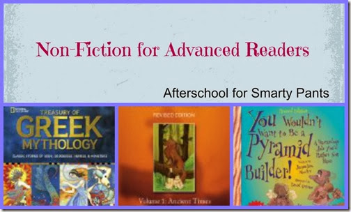 Non Fiction for Advanced Readers: Afterschool for Smarty Pants