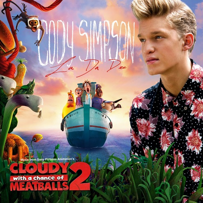 "Cody Simpson's ""La Da Dee"" To Become End Credits Song for ""Cloudy"" Sequel"