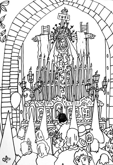 Pasos De Virgenes Para Pintar