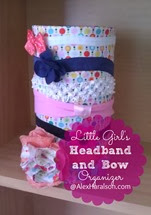 Litte Girls Headband and Bow Organizer8