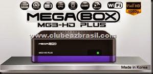 ATUALIZAÇÃO MEGABOX MG3 HD PLUS SATELITE