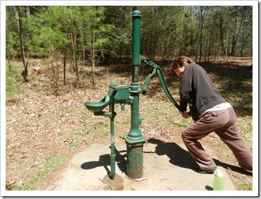 2013-04-23 Walnut Flats, VA - Hand Pump (1)