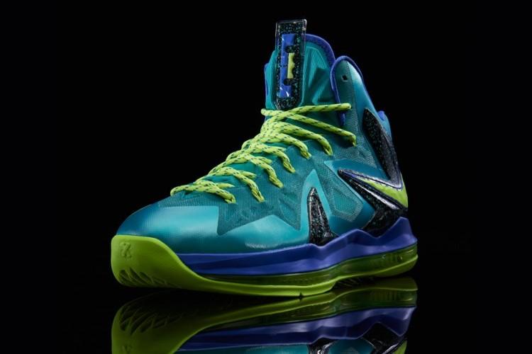 "Release Reminder: Nike LeBron X PS Elite ""Sport Turquoise ...  Lebron 10 Elite Turquoise"