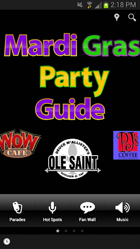 Mardi Gras Party-Parade Guide