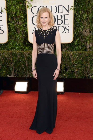 Nicole Kidman arrives at the 70th Annual Golden Globe Awards