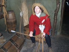 Warwick Castle - The Kingmaker Exhibition