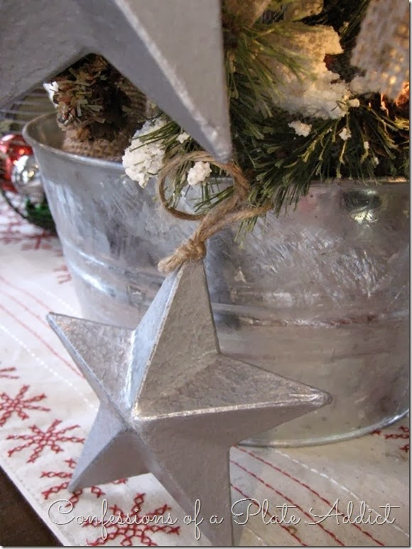 CONFESSIONS OF A PLATE ADDICT DIY 3-D Galvanized Stars