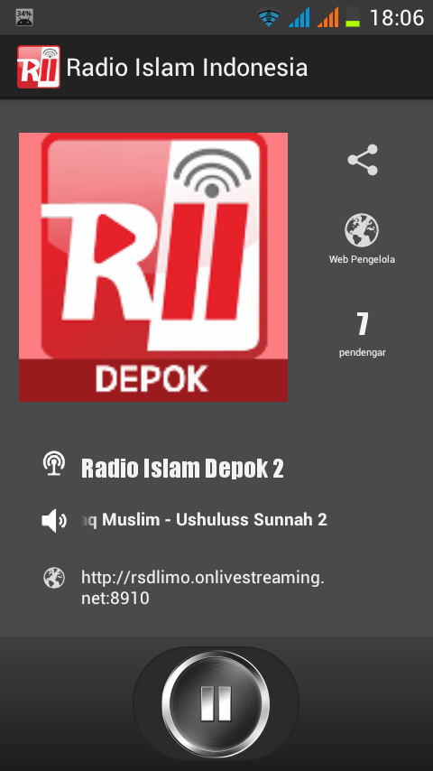 Radio Islam Indonesia- screenshot