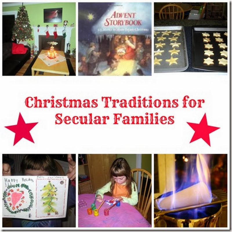 Inspired Christmas for Non-Religious Families