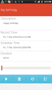 Auto Voice Reminder - screenshot thumbnail
