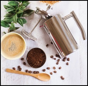 Mira Small Stainless French Press 02