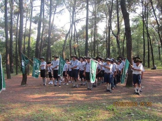 TraiDungThuaThioem2013 29 BHD GĐPT Thừa Thiên tổ chức Trại Dũng năm 2013