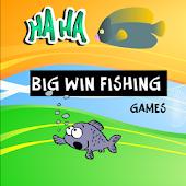 Big win fishing games for kids