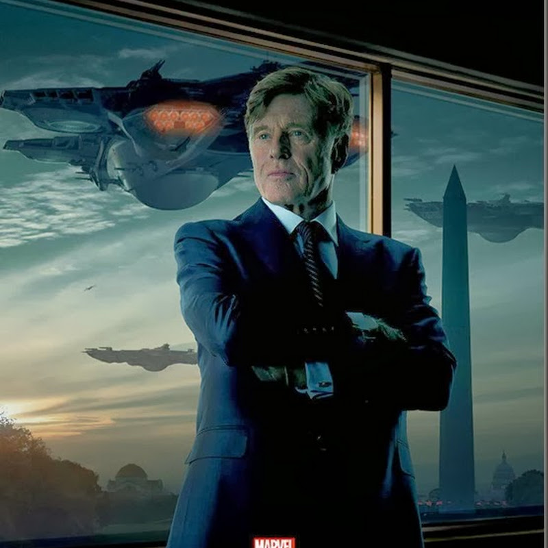 "Redford Steps Into His Own ""Captain America: The Winter Soldier"" Poster"