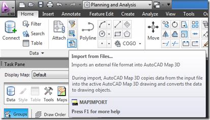 Civil 3D Reminders: Importing Shape Files