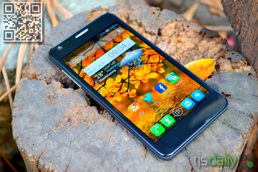 Alcatel One Touch Idol Ultra Review Front