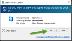 Win-Fu Official Blog: How to install full version of Teamviewer on