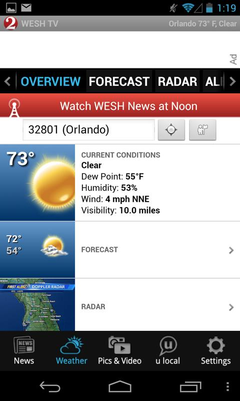 WESH 2 News and Weather - screenshot