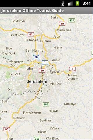Jerusalem Offline Tourist_Maps