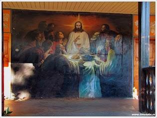Фрески на стенах монаствря Св.Георгия.