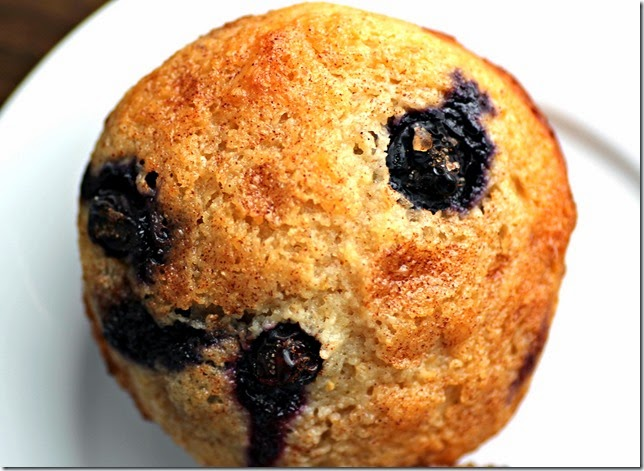 Skinny Blueberry Muffins2