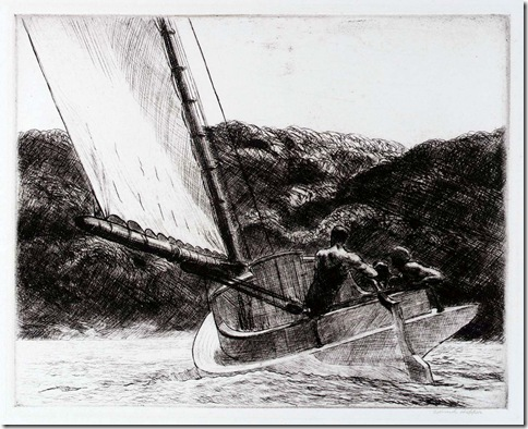 Edward_Hopper_The_Cat_Boat_1922