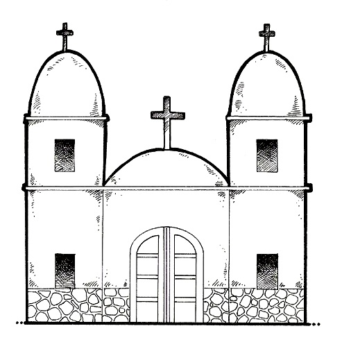 Iglesias Dibujos Para Pintar