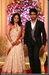 GV Prakash Kumar & Saindhavi Wedding Reception Photos