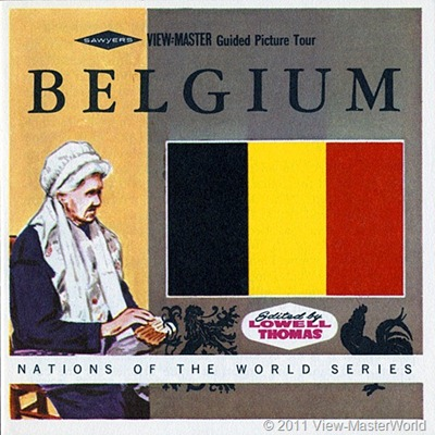 View-Master Belgium (B188), Booklet Cover