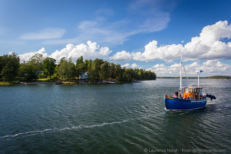 boat Finland helsinki