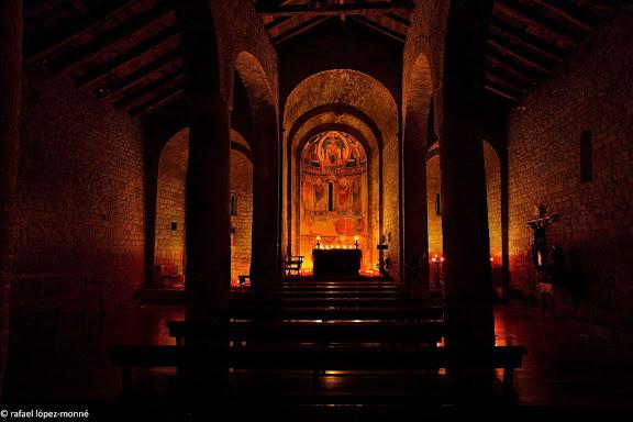 Esglesia romanica de Santa Maria de Taüll segles XI i XII. La Vall de Boí, Alta Ribagorça. © RLM