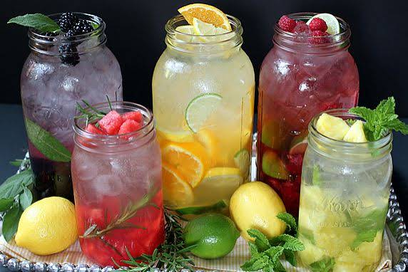 Fruit & Herb Flavored Water Recipe | Yummly