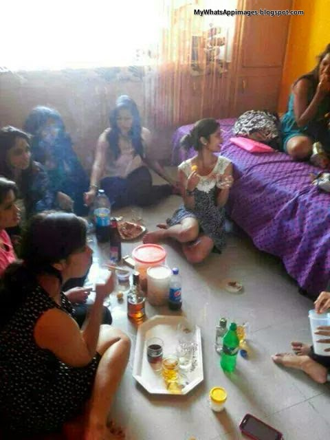 Naughty Girls party image