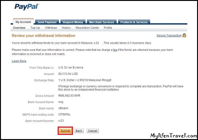 Paypal Withdraw 8