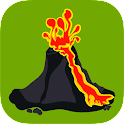 Volcanoes - Map, Info and News icon