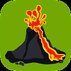Volcans: carte, alertes & nuages de cendres icon
