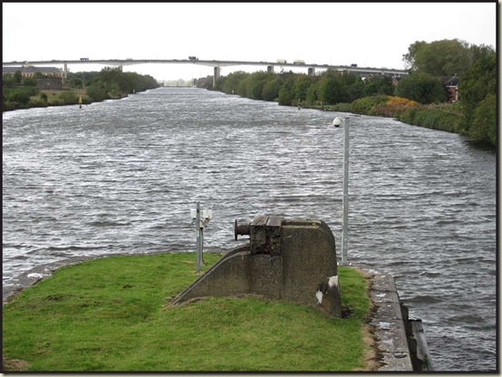 The Manchester Ship Canal and the M60 Motorway