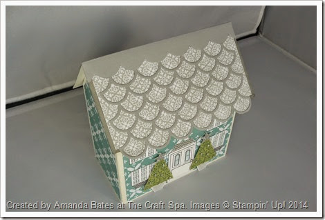12 Days of Christmas, All is Calm House Mini Book, Amanda Bates, The Craft Spa,  (3)