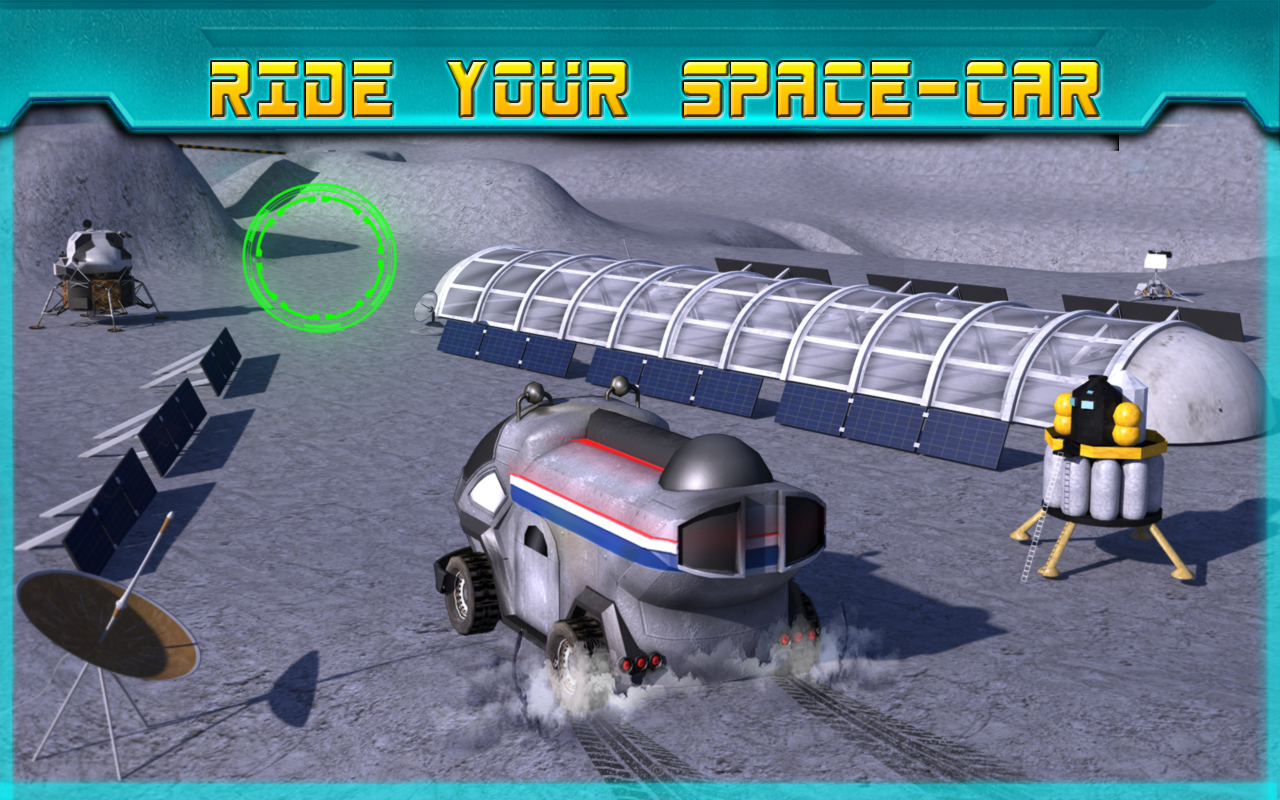 Space moon rover simulator 3d android apps on google play for 3d room simulator