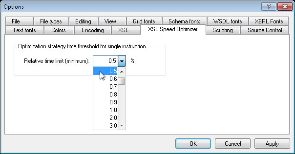 Speed XSLT Transformation