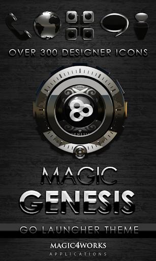 GO Launcher Theme Genesis