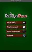 Screenshot of Bridge Base Online