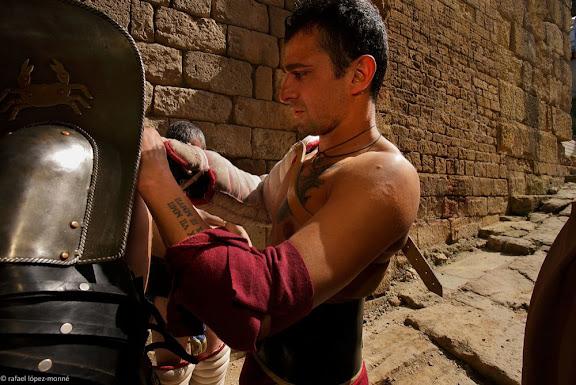 MUNERA GLADIATORA, Lluites de gladiadorsArs Dimicandi. Recreació històrica.Tàrraco Viva, el festival romà de Tarragona. XIVa edició.Tarragona, Tarragonès, Tarragona