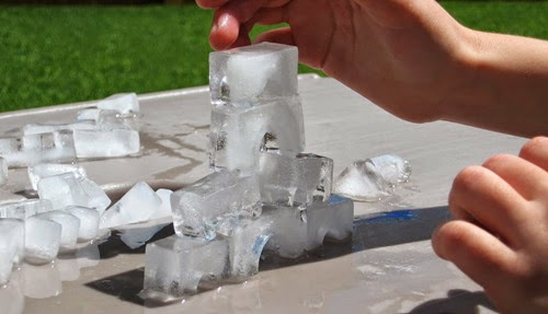Ice Castle from Almost Unschoolers