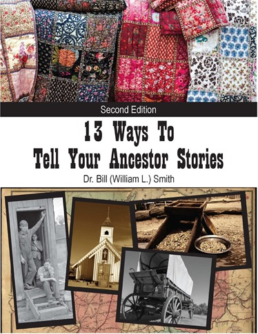 13 Ways To Tell Ancestor Stories Book Cover