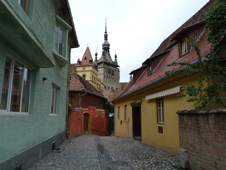 Obiective turistice Romania: e liniste in cetate