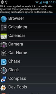 ICS StatusBar - screenshot thumbnail