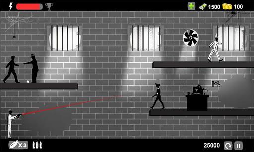 Angry Prisoner Shooting Cop