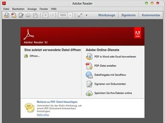 Adobe Reader 11 Download for Windows and Mac OS